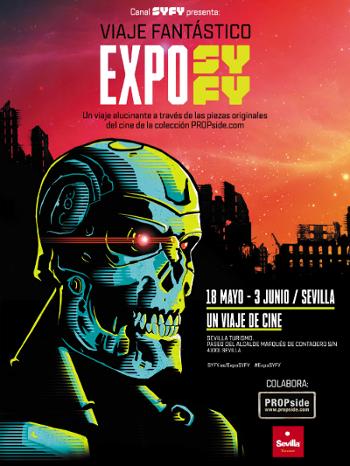 un viaje de cine expo syfy
