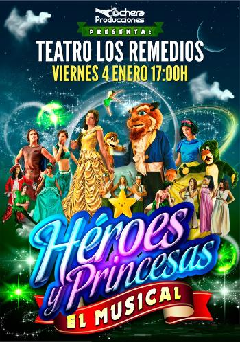 heroes y princesas sevilla