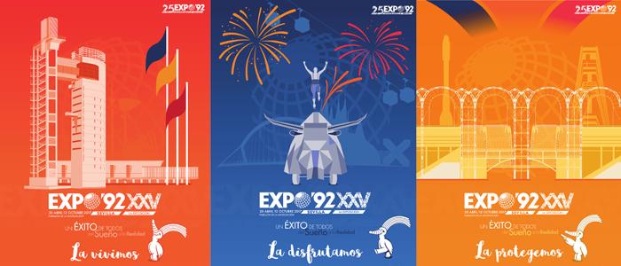 carteles expo 92