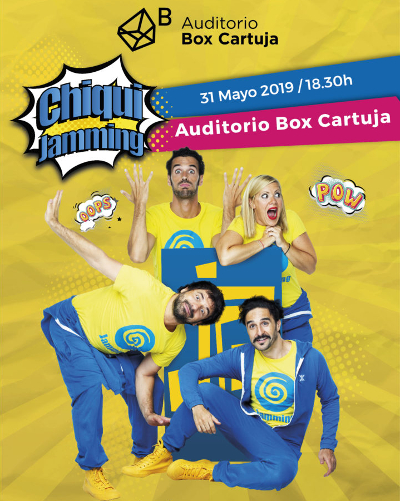 chiqui jamming box cartuja sevilla