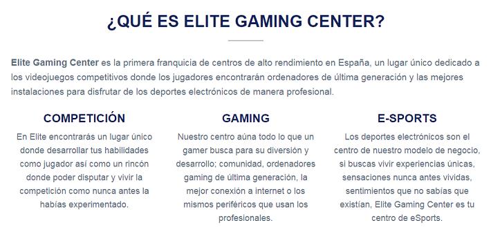 elite gaming center sevilla