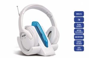 Auriculares inalámbricos blancos