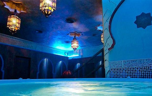Rel jate y siente los beneficios del agua - Banos arabes medina aljarafe ...