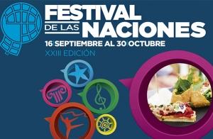 Gastronomía en el Festival de las Naciones
