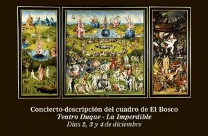"""Espectáculo """"El jardín de las delicias"""""""