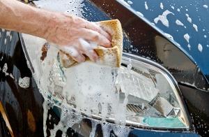 Completa limpieza de coche con encerado