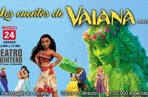 Musical Los Cuentos de Vaiana - Teatro Quintero