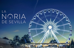 Paseo en la Noria de Sevilla