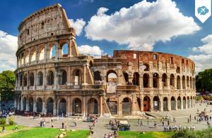 Escapada de 4 días, 3 noches+vuelo a Roma