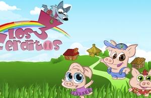 Espectáculo infantil Los 3 cerditos y el lobo feroz