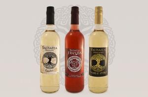 Lote de 3 botellas de hidromiel Valhalla