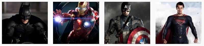superheroes la exposicion
