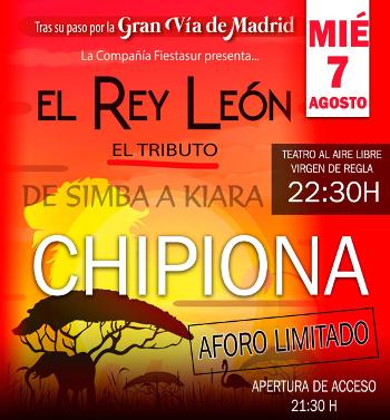 tributo rey leon chipiona